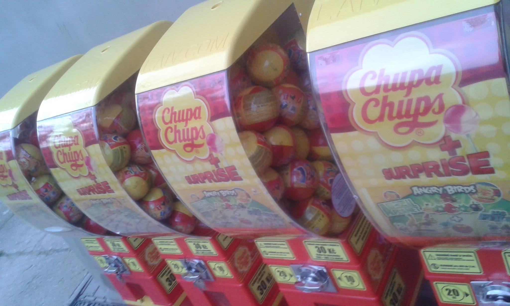Automaty CHUPA CHUPS SURPRISE