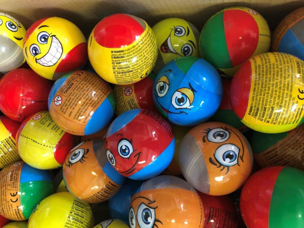 kapsle happy balls 90mm