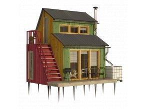 plany zahradni domek jitka pro stavbu svepomoci