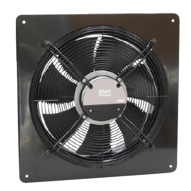 Průmyslové axiální ventilátory EDAV