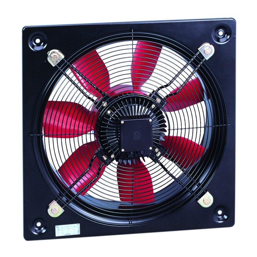 Průmyslové nástěnné axiální ventilátory HCBB/HCBT