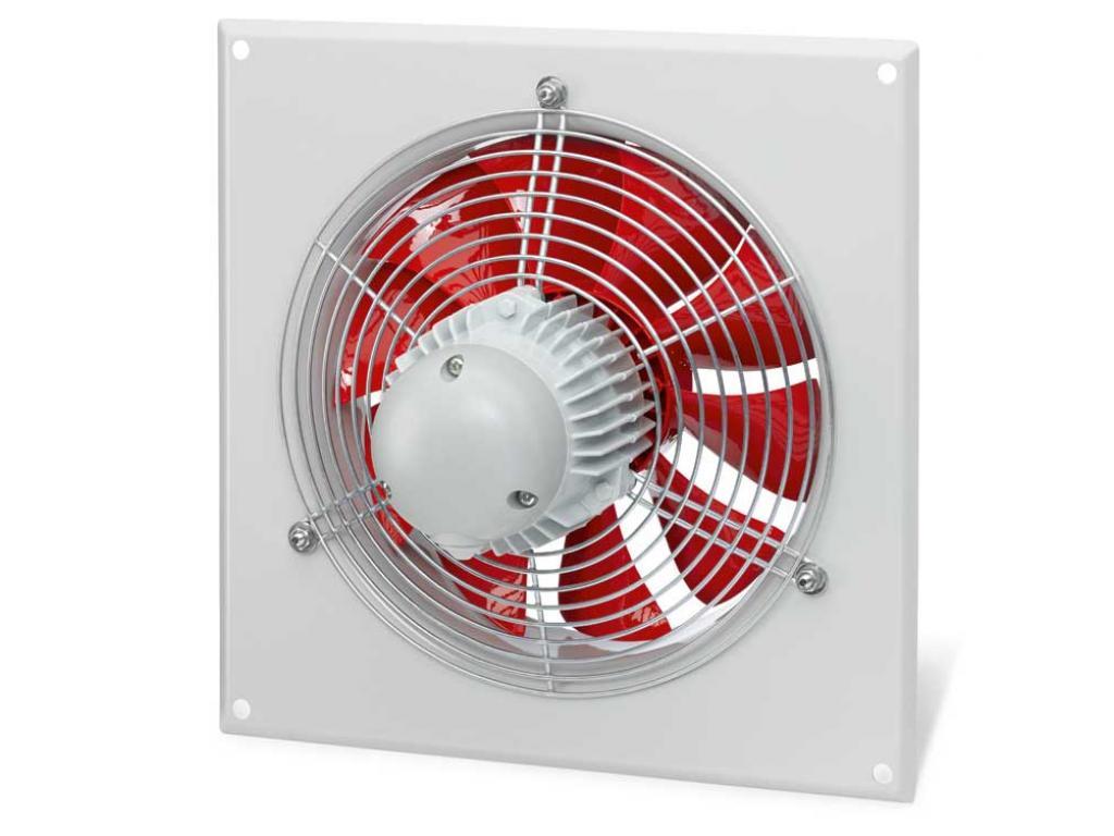 Průmyslové nástěnné axiální ventilátory Helios HQW