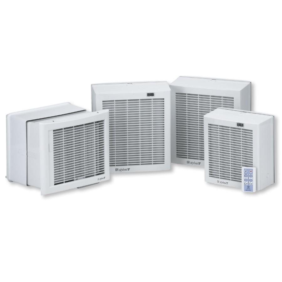 HV Stylvent ventilátory na stěnu nebo do okna