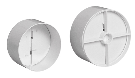 Zpětné klapky RKK pro kruhové potrubí