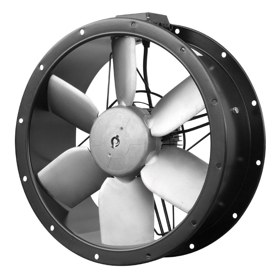 Průmyslové potrubní axiální ventilátory TCBB/TCBT