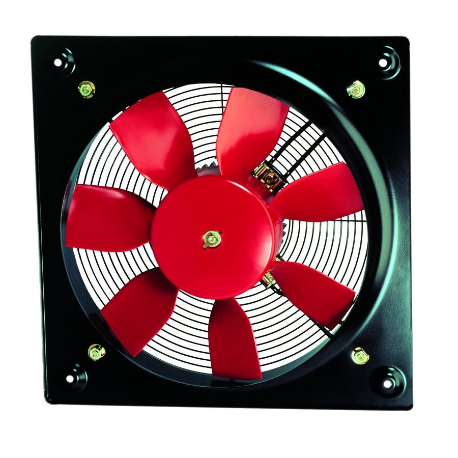 Průmyslové nástěnné axiální ventilátory HCFB/HCFT