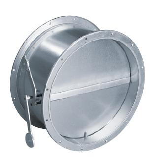 Zpětné klapky TSK pro kruhové potrubí