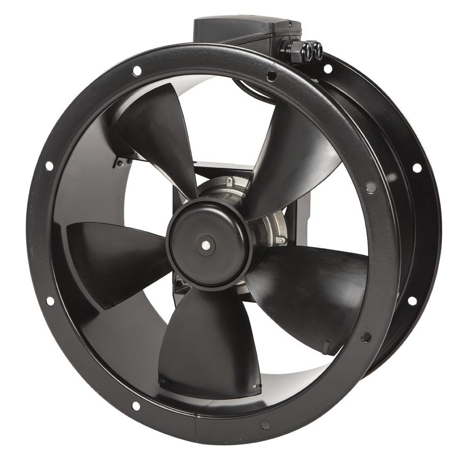 TXBR Ecowatt - potrubní axiální úsporné ventilátory s EC motorem