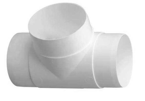 T-odbočky plastové pro kruhové potrubí