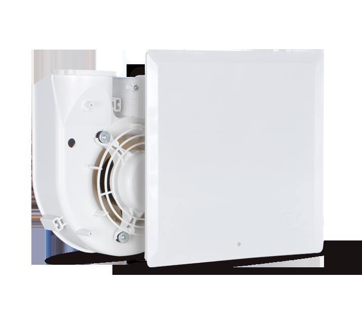 Vortice Quadro Evo - radiální ventilátory do koupelny, na WC