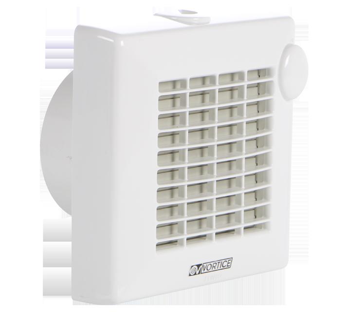 Axiální ventilátory do koupelny nebo na záchod Vortice PUNTO M