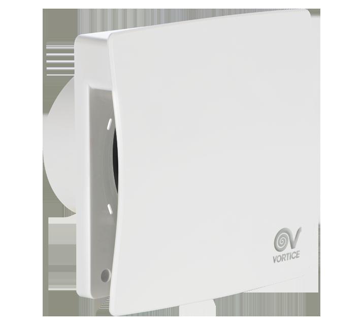 Designové axiální ventilátory do koupelny s kuličkovými ložisky Vortice Punto Evo Flexo MEX