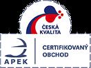 Ventishop.cz je držitelem certifikátu APEK Certifikovaný obchod