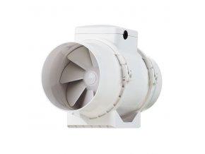 Vents TT 125 S  Ventilátor do kruhového potrubí 125 mm s vyšším výkonem