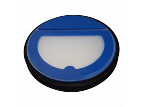 Zpětná klapka je vyrobena z ABS plastu.