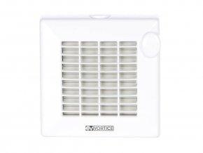 """Vortice PUNTO M 100/4"""" AT LL  Axiální ventilátor do koupelny LL (Long Life) s kuličkovými ložisky, automatickou žaluzií a časovým doběhem"""