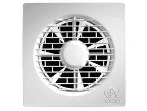 """Vortice PUNTO FILO MF 120/5"""" T  Axiální ventilátor do koupelny pro potrubí 120 mm s časovým doběhem"""