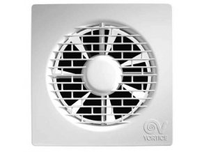"""Vortice PUNTO FILO MF 150/6"""" T  Axiální ventilátor do koupelny pro potrubí 150 mm s časovým doběhem"""