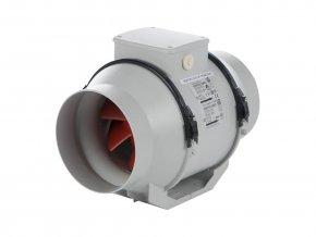 Vortice LINEO 125 T V0  Dvouotáčkový potrubní ventilátor s časovým doběhem
