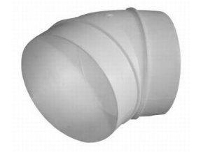 UK-OS-150/45 oblouk plastový 45° pro kruhové potrubí