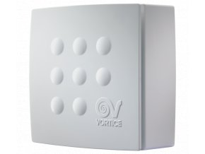 Vortice Quadro MICRO 100 T  stěnový radiální ventilátor do koupelny s časovým doběhem