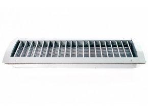 SPIRO mřížka jednořadá 425x125  Výústka univerzální ke spiro potrubí