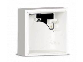 QE-B I K90 R  Instalační protipožární krabice pro VORT QUADRO EVO pro zapuštěnou montáž, s požární zpětnou klapkou K90 a zadním výfukem