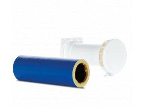 MSDV 100  Manuální přívodní potrubní ventil s průměrem potrubí 100mm a zvukovou izolací