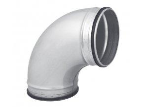 OBL 90° 125 SAFE kovové koleno kulaté s těsněním