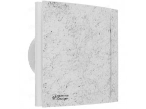 silent design marble white ventishop