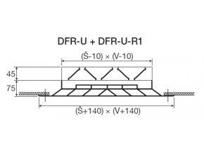 DFR U R1 rozmery
