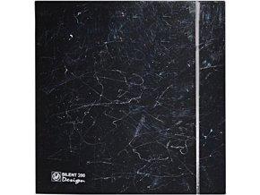 siletn design marble black celni mrizka ventishop
