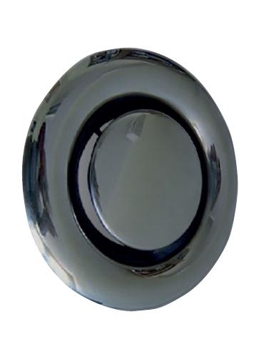 KOC 125 talířový ventil odvodní nerez