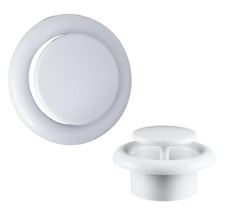 IT-PRO 125 plastový talířový ventil univerzální