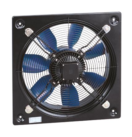 HCBB/6-500 H axiální ventilátor