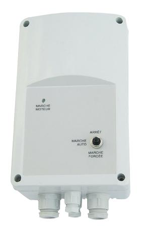 REB 3 ANALOG automatický regulátor otáček