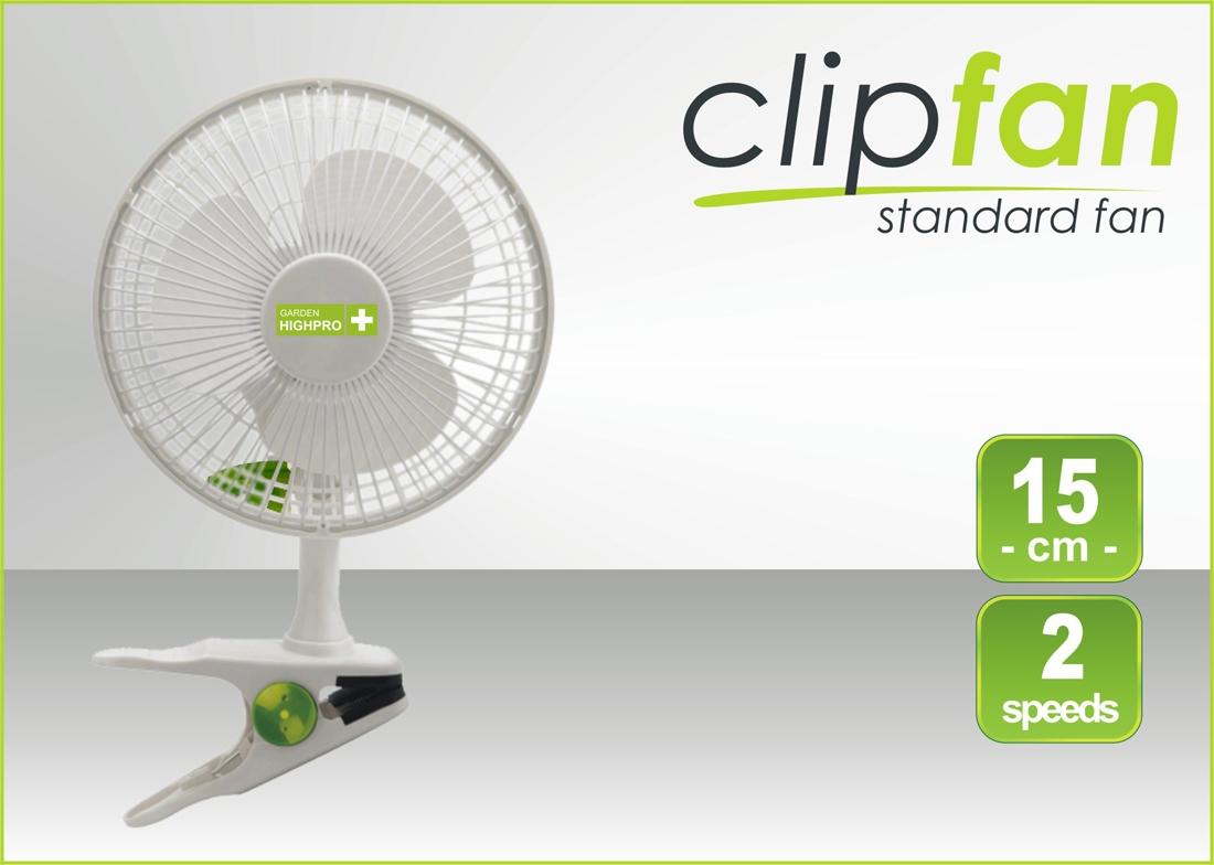 Klipsnový ventilátor Garden Highpro 15W