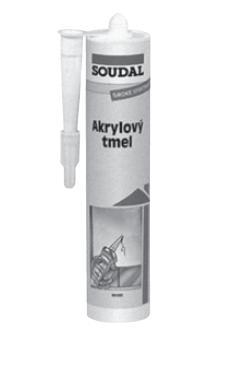 Tmel těsnící akryl 310 ml