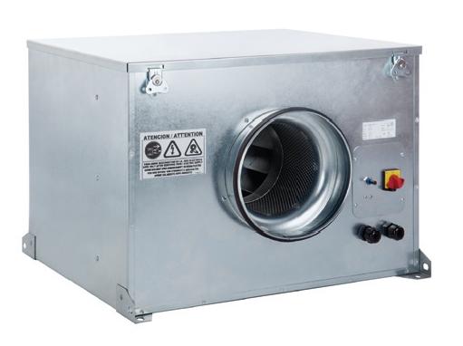 CAB 125 Ecowatt IP44 tichý úsporný potrubní ventilátor