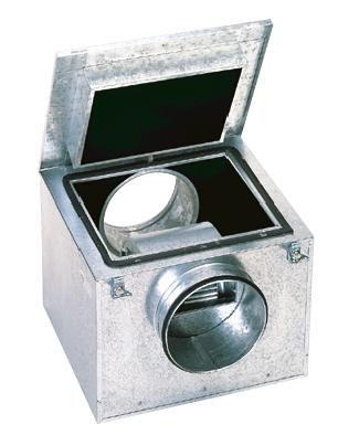 CAB 125 IP44 tichý potrubní ventilátor