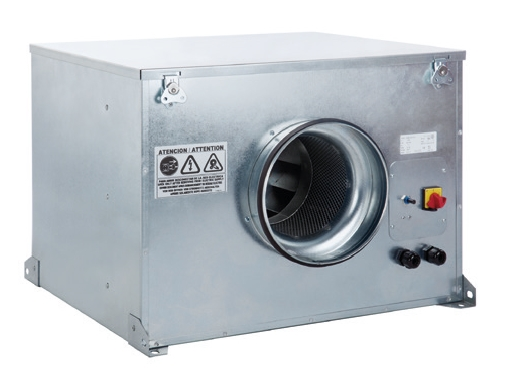 CAB 250 Ecowatt IP44 tichý úsporný potrubní ventilátor
