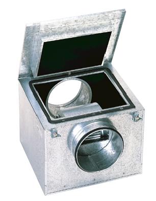 CAB 400 RE IP55 tichý potrubní ventilátor