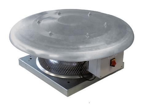 CRHT/4-500 střešní radiální ventilátor