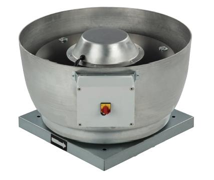 CRVB/2-250 IP54 střešní radiální ventilátor