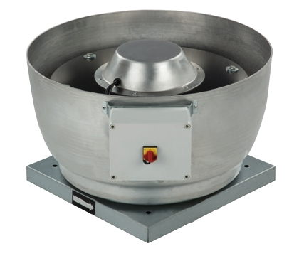CRVT/4-400 střešní radiální ventilátor