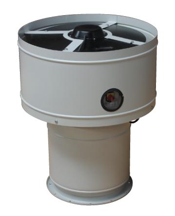 CTB/4-1300/315/HN střešní ventilátor s hybridním nástavcem
