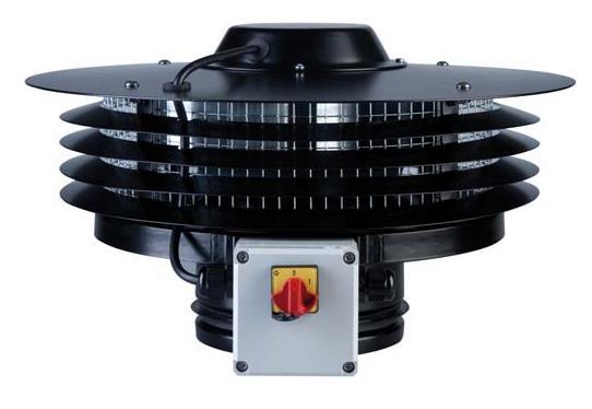CTB/4-800/250 IP55 střešní ventilátor