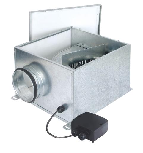 CVB-1100/250 Slimbox IP55 tichý ventilátor