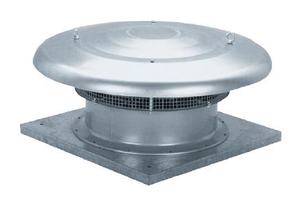 HCTT/4-500 B střešní odvodní ventilátor
