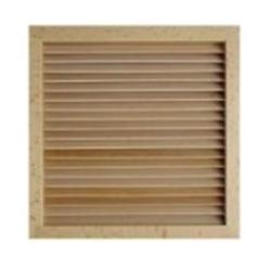 LGES 100 dřevěná ventilační mřížka buk